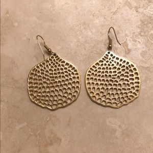 Banana Republic gold-colored earrings